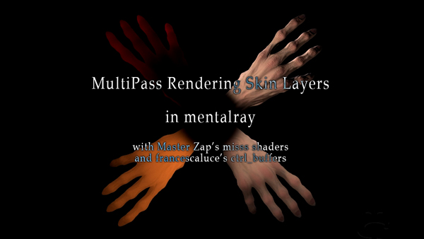 MultiPass Rendering Skin Layers Title
